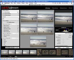 Adobe Lightroom Beta unter Mac
