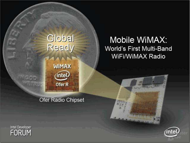 Intel Ofer-Chip mit integrierten WiFI und WiMAX