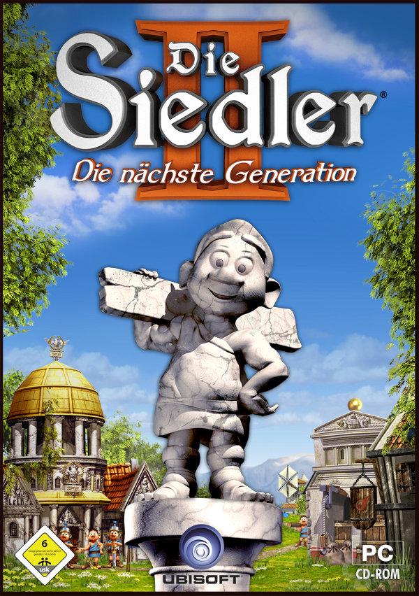 """Verkaufspackung von """"Die Siedler II - Die nächste Generation"""" von Ubisoft"""