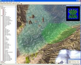 """Karten-Editor von """"Die Siedler II - Die nächste Generation"""" von Ubisoft"""