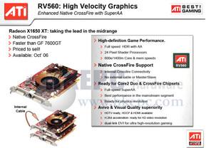 Spezifikationen Radeon X1650 XT