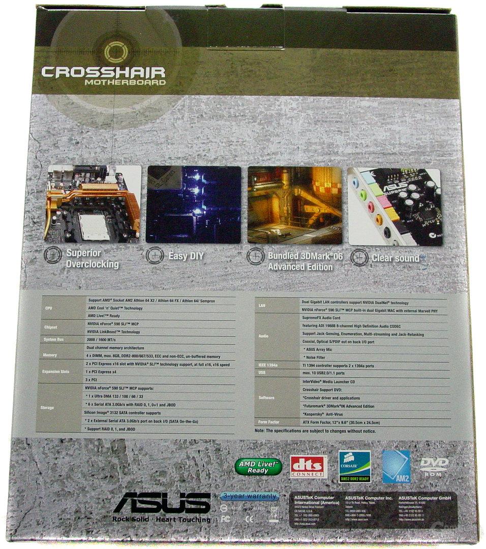 Asus M2N Crosshair Green - Verpackung - 2