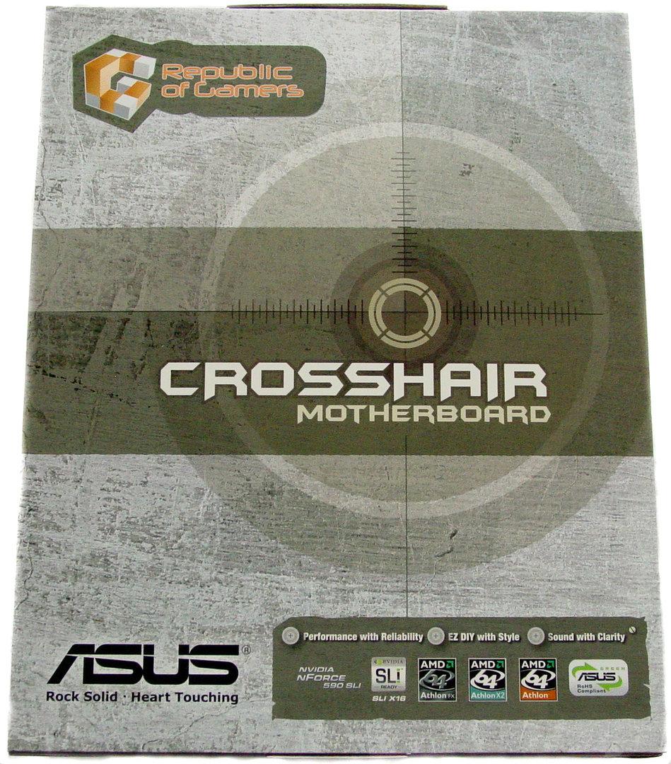 Asus M2N Crosshair Green - Verpackung