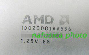 AMD Athlon in 65 nm - Identifikationscode