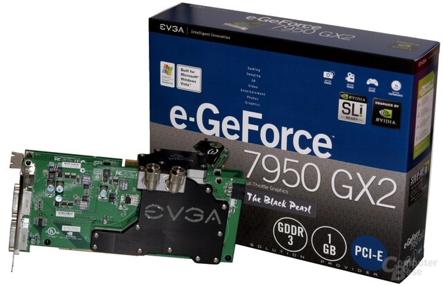 EVGA e-GeForce 7950 GX2 BlackPearl