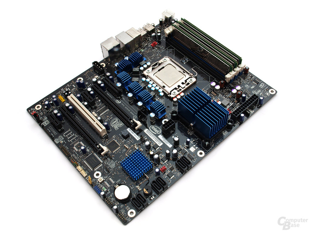 Intel DX58SO Extreme Motherboard und Intel Core i7-920 CPU