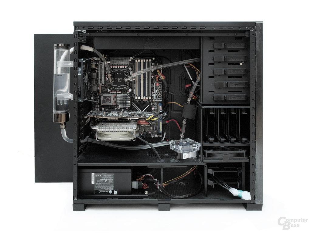 Wasserkühlung Testsystem