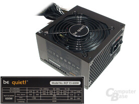 Testnetzteil: Be-Quiet Straight-Power mit 600 Watt