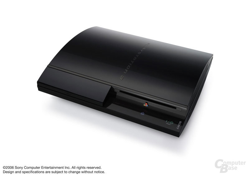 Sony PlayStation 3 mit 20 GB Festplatte