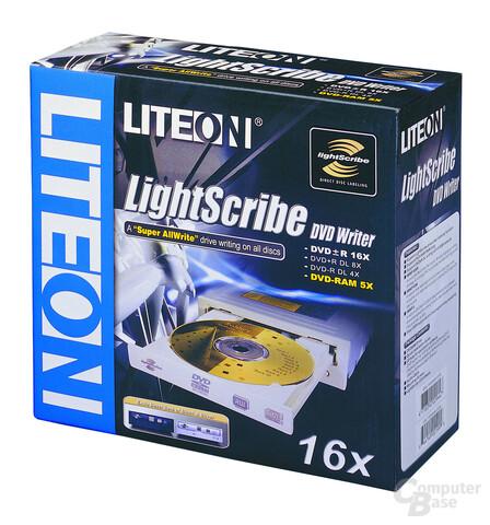 Lite-On SHM-165H6S mit Support für LightScribe und DVD-RAM