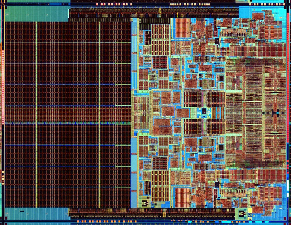Intels jüngster Dual-Core-Prozessor: Die-Shot des Core 2 Duo und Xeon 5100