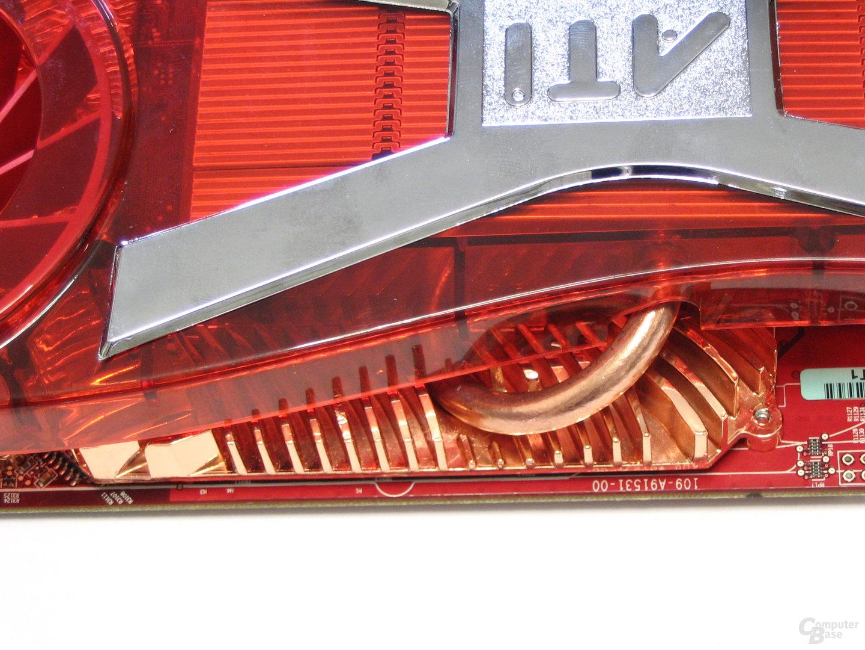 Radeon X1950 XTX Heatpipe
