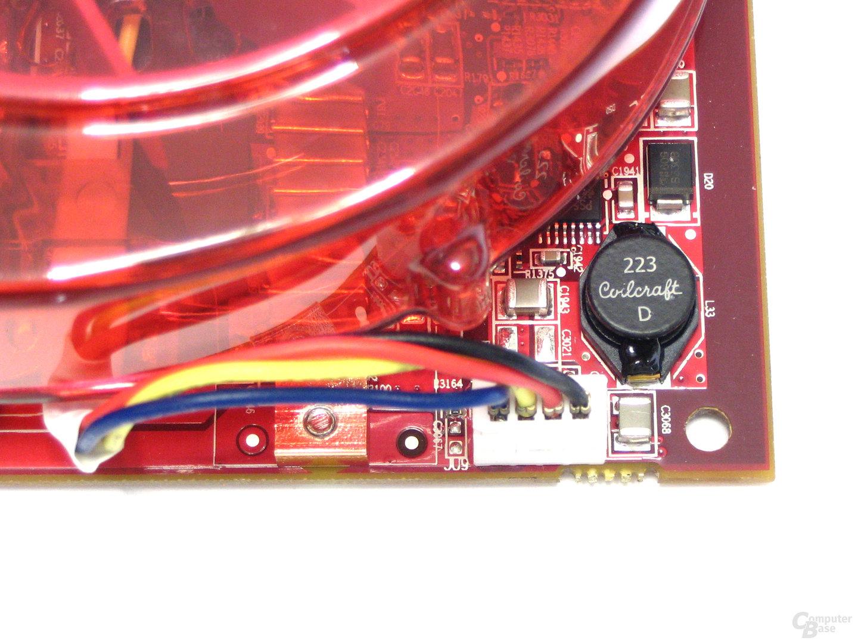 Radeon X1950 XTX Luefteranschluss