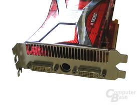 Radeon X1950 XTX Slotblech