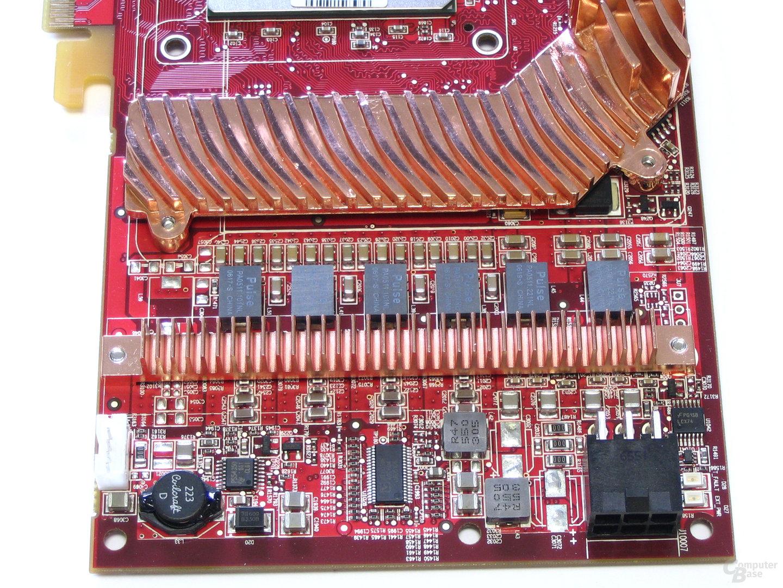 Radeon X1950 XTX Spannungswandler