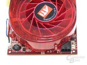 Radeon X1950 XTX Stromanschluss