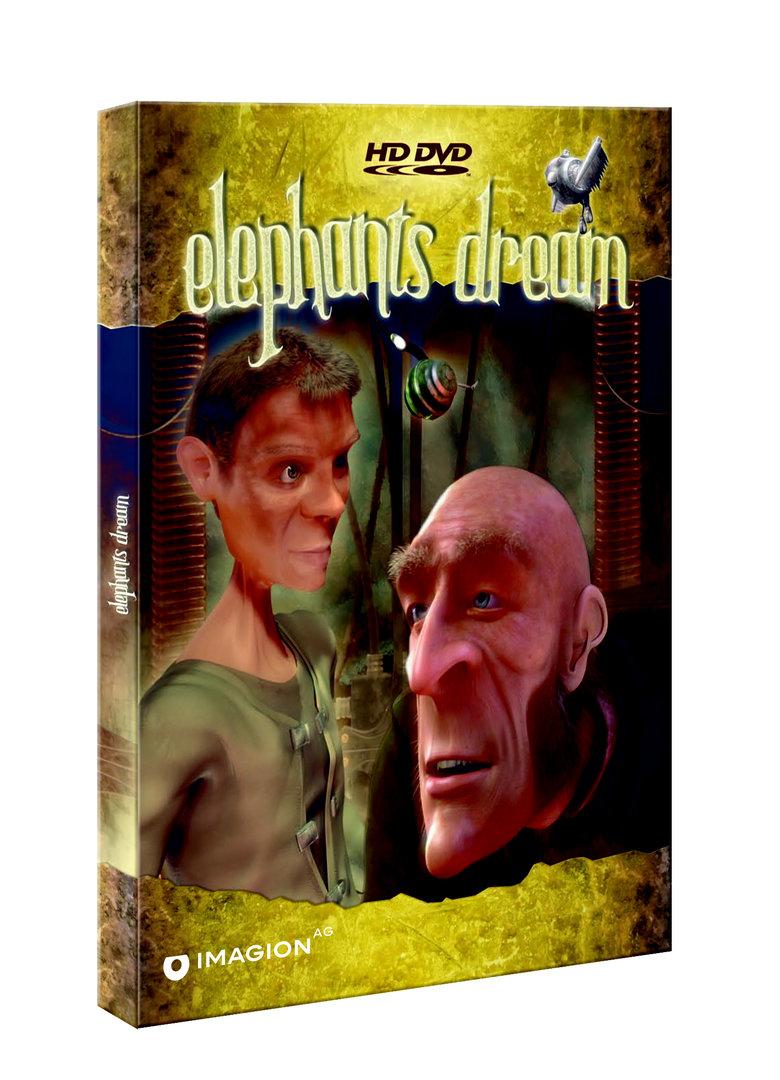 Elephants Dream - Erste deutsche HD DVD