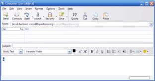 Thunderbird 2.0 Theme-Vorschlag – Composer