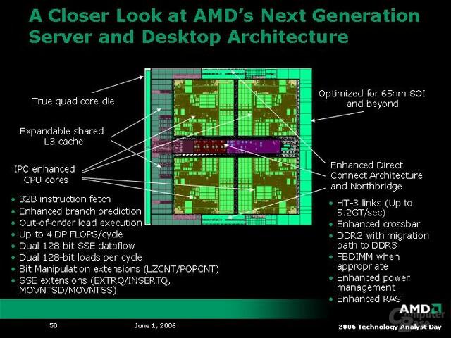 AMD K8L-Architektur