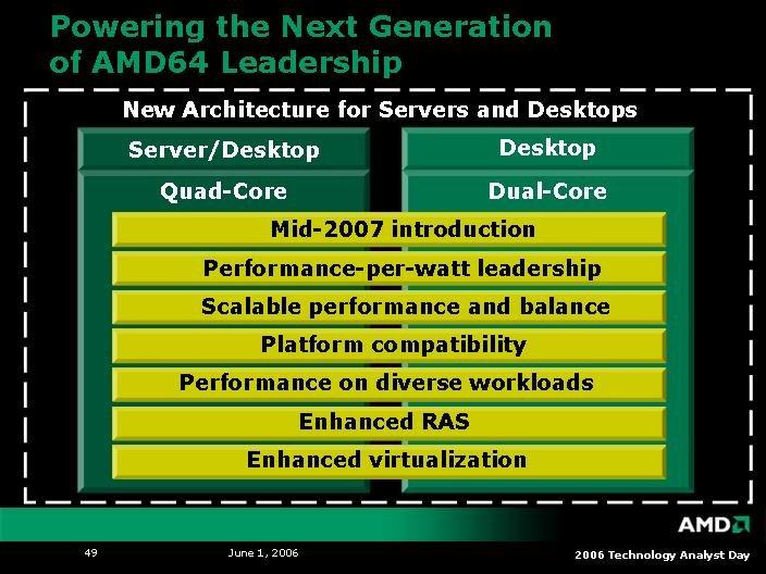 K8L-Design für Desktop und Server Mitte 2007