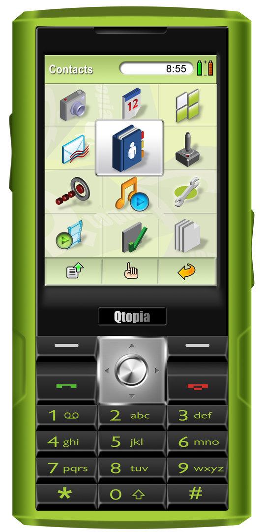 """Trolltech """"Greenphone"""""""