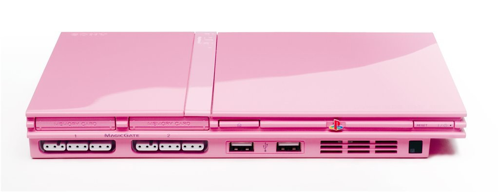 Playstation 2 in Pink