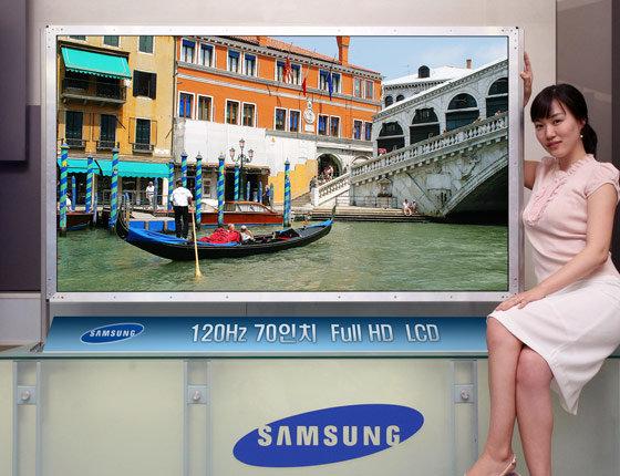 Samsung-Panel mit 70 Zoll