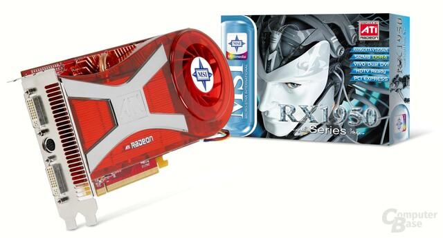 MSI RX1950XTX-VT2D512E