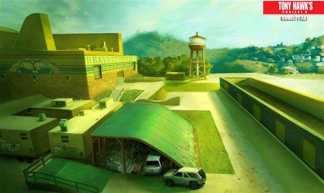 Artworks zu Tony Hawk's Project 8 | 23.06.2006