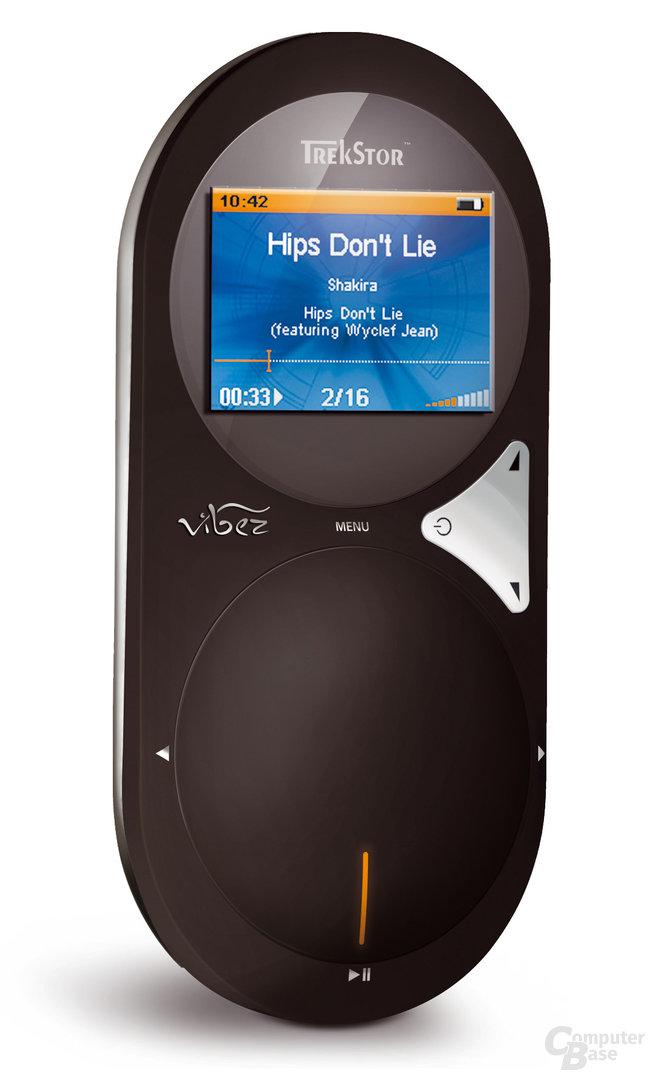 """Neuer festplattenbasierter MP3-Player """"TrekStor vibez"""""""