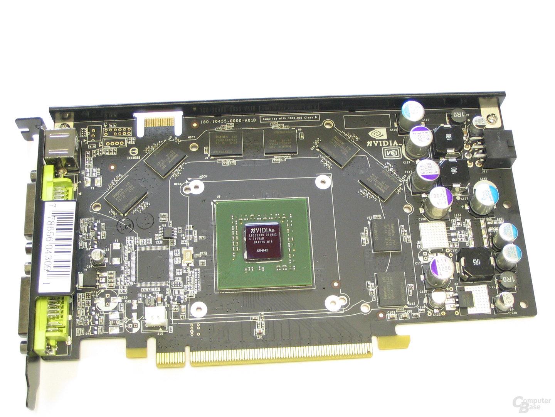 XFX GeForce 7900 GS 480M ohne Kuehler