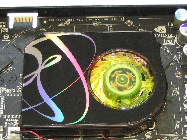 XFX GeForce 7900 GS 480M Luefter