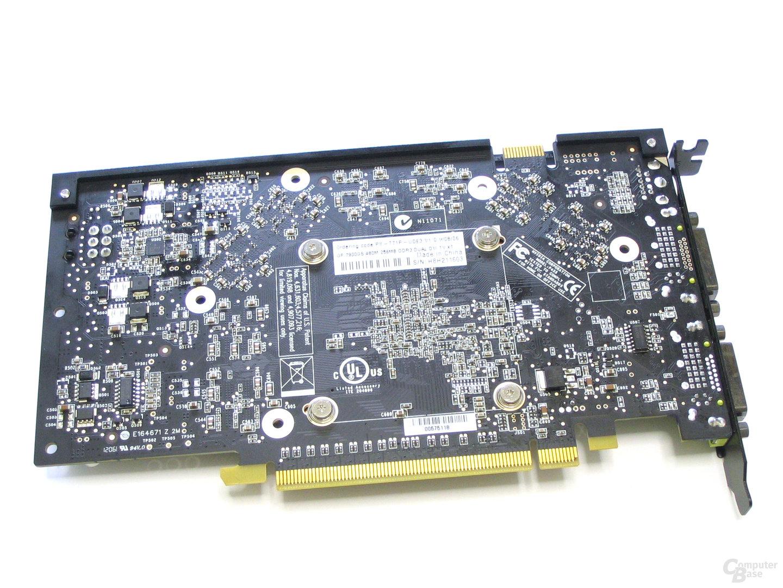 XFX GeForce 7900 GS 480M Rueckseite