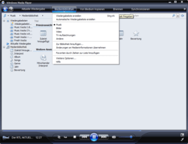 Windows Media Player 11 Beta mit Mediendatenbank für Audio, Video und Photo