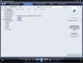 Windows Media Player 11 Beta mit As-You-Type-Suche