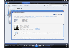 Windows Media Player 11 Beta ruft Medieninformationen ab