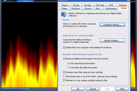 Windows Media Player 11 Beta 2 - Media Sharing
