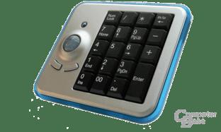 Wireless Optical Trackball Keypad von Perixx