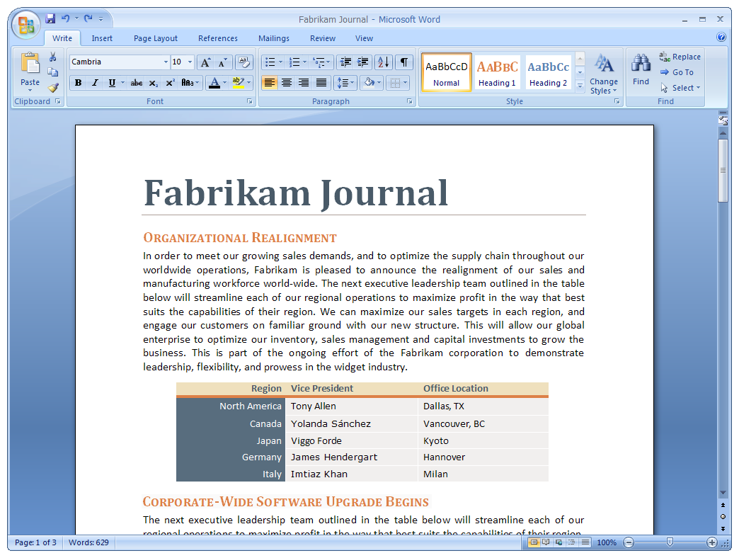 testversion microsoft word 2007