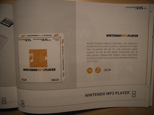 MP3-Player für Nintendos DS-Konsole