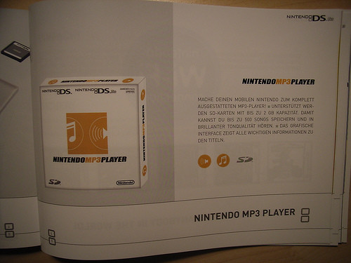 MP3-Player für Nintendos DS-Konsole