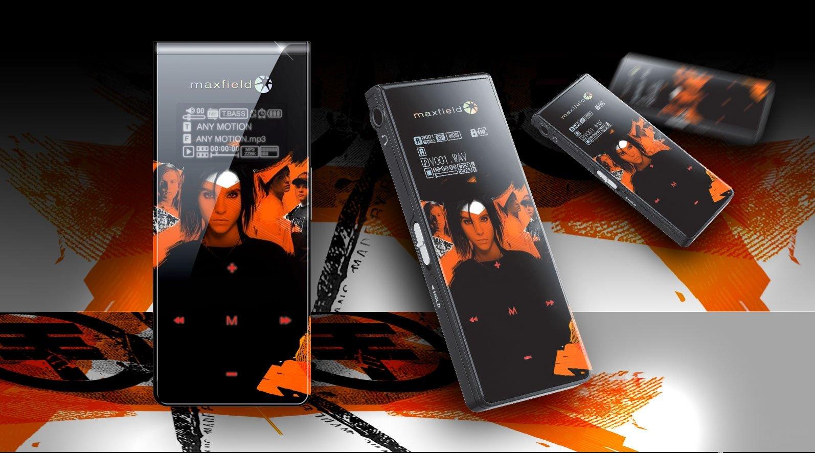 Tokio Hotel Musik-Player von Maxfield