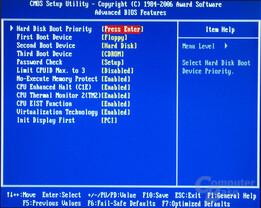 BIOS Gigabyte GA-965P-DQ6