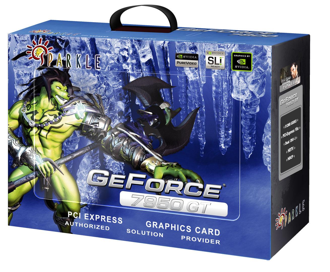 Sparkle GeForce 7950GT