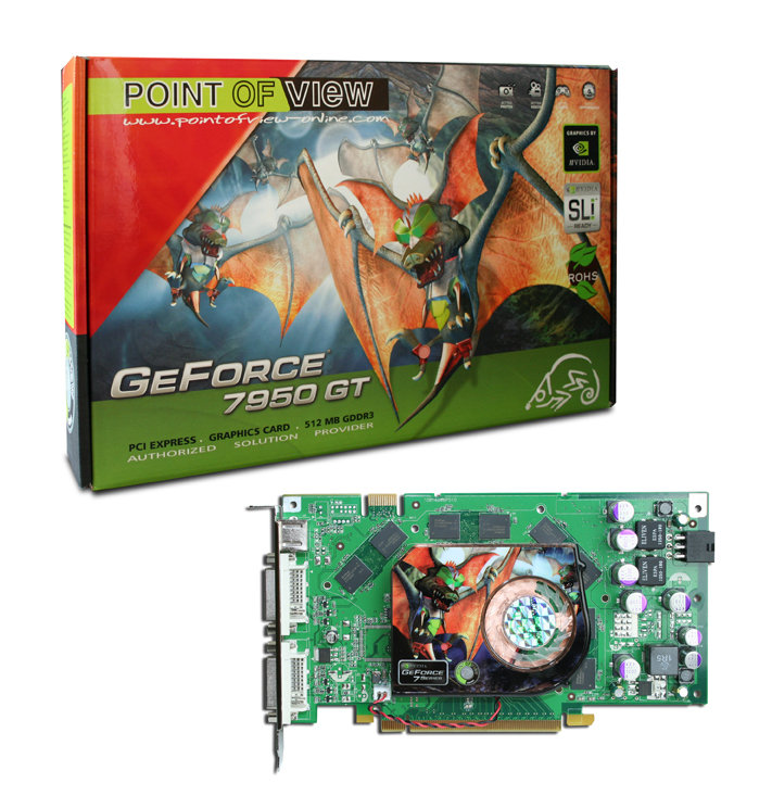 Point of View GF 7950 GT 512MB