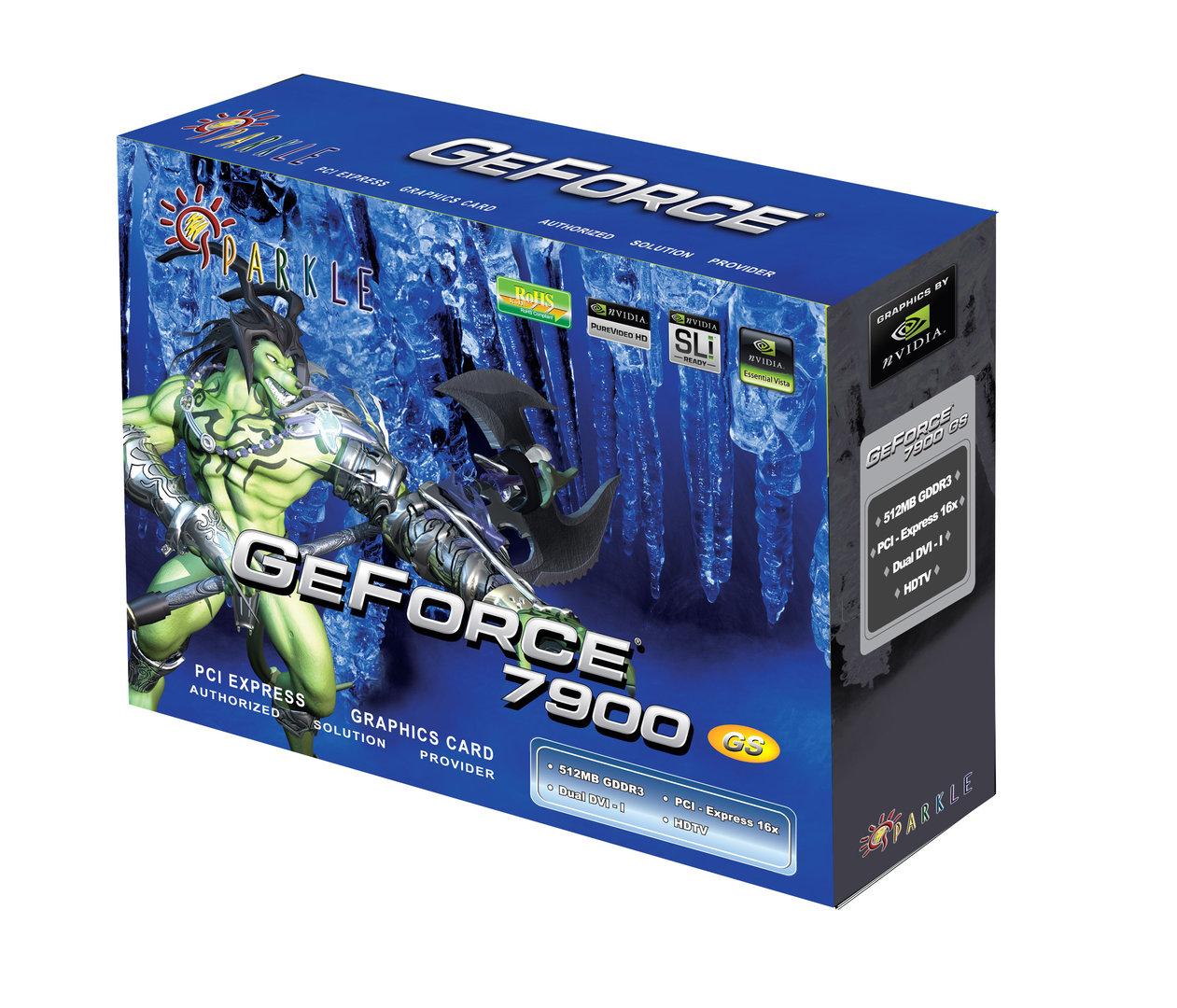 Sparkle GeForce 7900GS