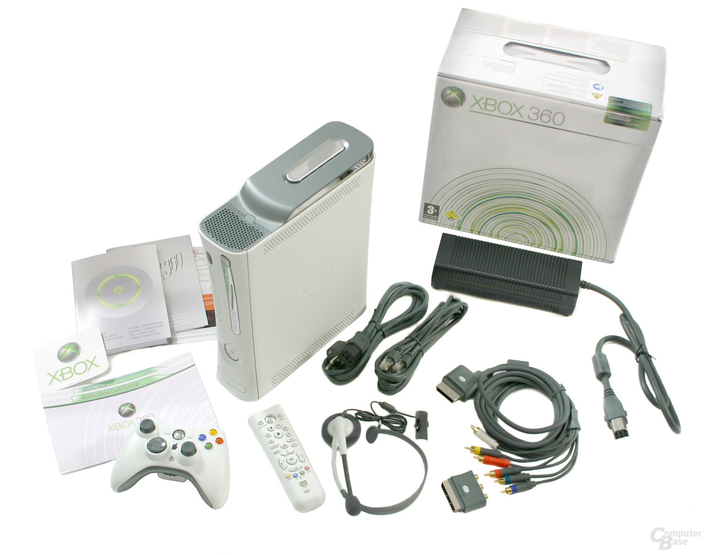 Xbox 360 - Lieferumfang