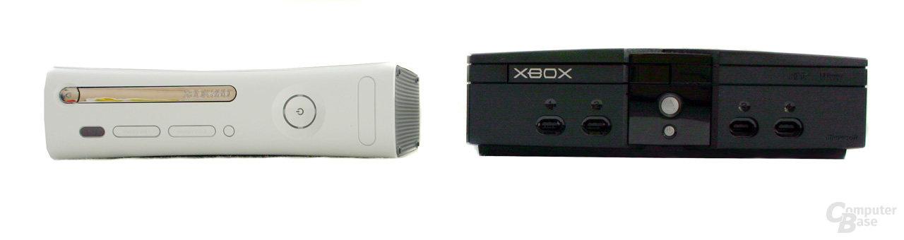 Xbox 360 und Xbox im Vergleich