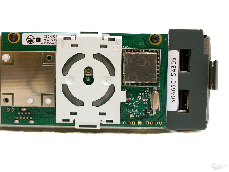 Xbox 360 - Ein Blick ins Innere - Das Funkmodul