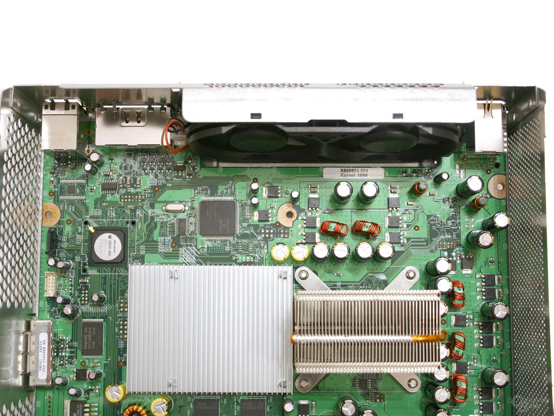 Xbox 360 - Ein Blick ins Innere - Die Lüfter und Kühler